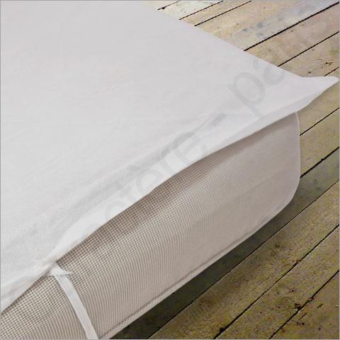 prot ge matelas plateau non imperm able lit de 70 80 90 ou 140 cm 50 pi ces. Black Bedroom Furniture Sets. Home Design Ideas