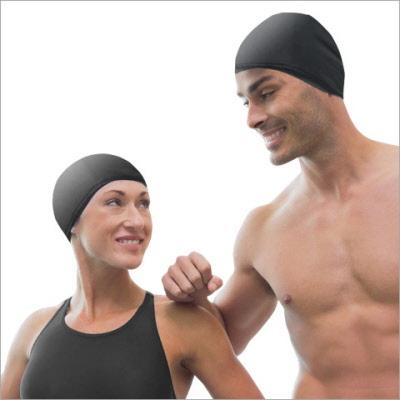 bonnet de bain de d pannage bonnet de piscine bonnet de spa bonnet de natation noir. Black Bedroom Furniture Sets. Home Design Ideas