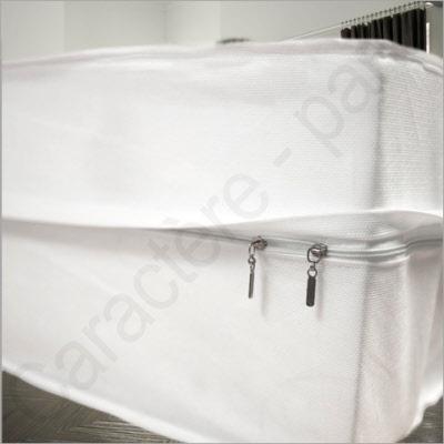 renov matelas r novateur de matelas avec fermeture clair housse de matelas pour punaise et. Black Bedroom Furniture Sets. Home Design Ideas